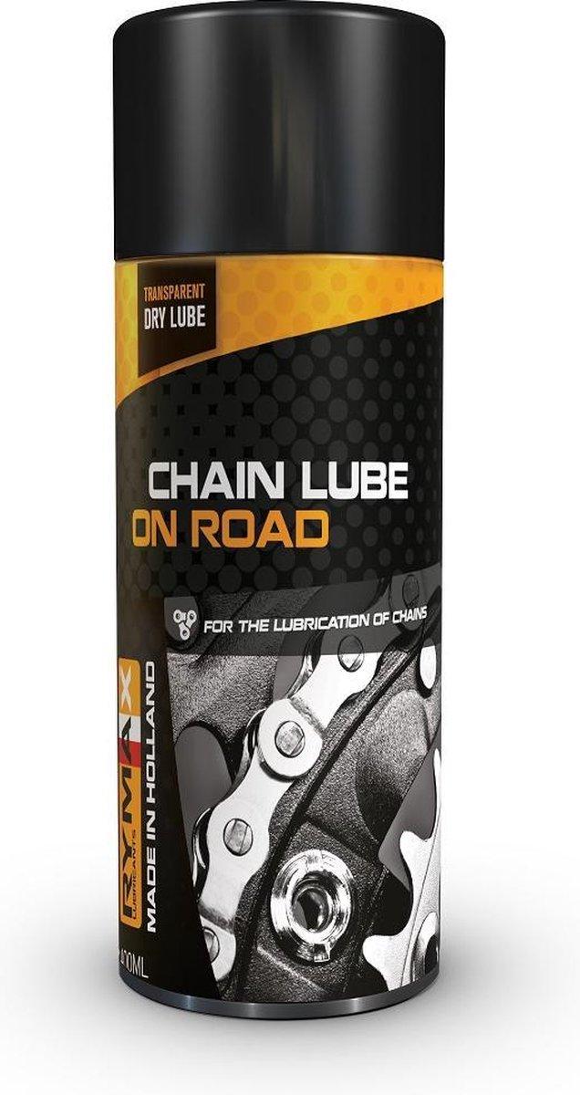 Rymax kettingspray On-Road - Chain Lube On-Road - Kettingspray die niet tacky is en geen zand / stof
