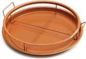Gotham Steel Crisper Tray - Bakplaat voor friet - Frituurset voor in de oven