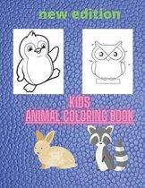 kids animal coloring book: Kids Coloring Books Animal Coloring Book