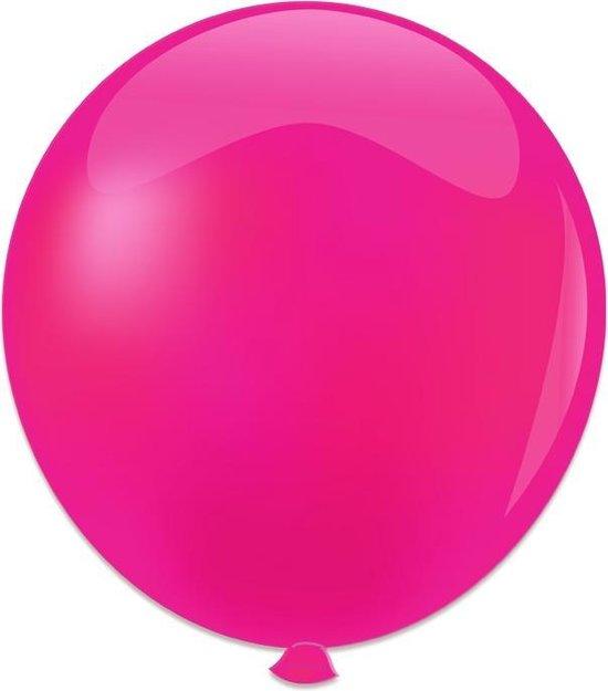 Topballon fuchsia 91 cm