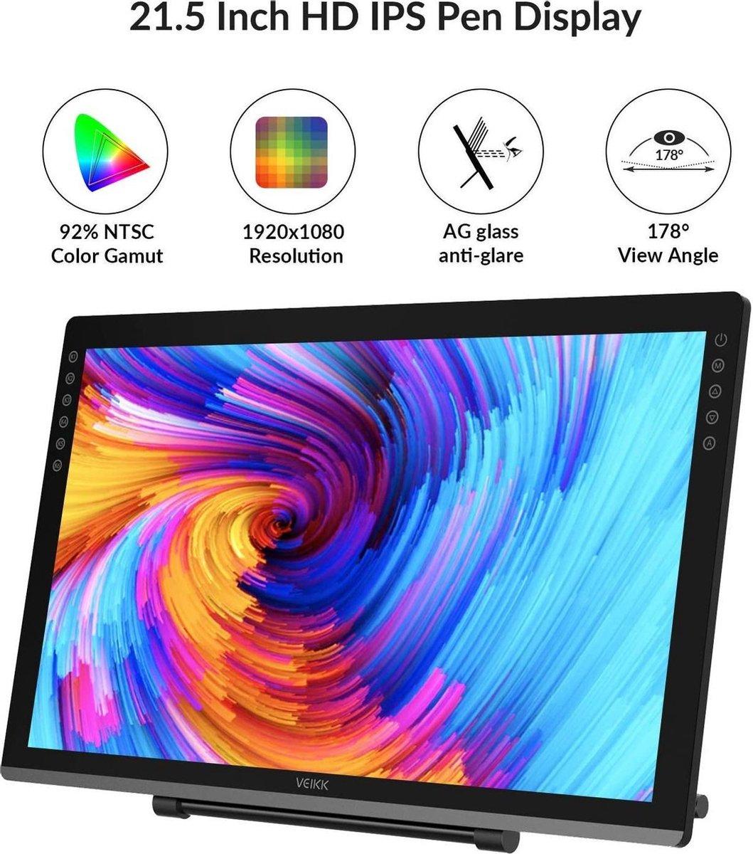 Veikk VK2200 LCD Tekentablet graphic tablet
