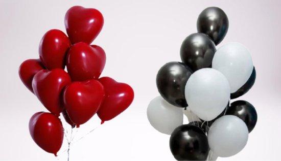 Latex Ballonnen – verjaardag ballonen – party Ballonnen - Feest Decoratie Versiering – hart ballonnen - Helium Ballonnen - mix kleuren