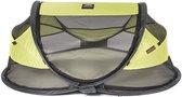 DERYAN Baby Luxe - Campingbedje – Inclusief zelfopblaasbare matras - Lemon -  2021