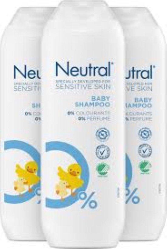 Neutral Baby Shampoo 250ml - Voordeelverpakking 3 Stuks