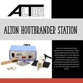 Alton Houtbrander - houtbrander voor hobby Regelbaar van 450 tot 750° C - Pyrografie - Houtbrander set - Houtbrander volwassenen - Pyrografie houtbrander