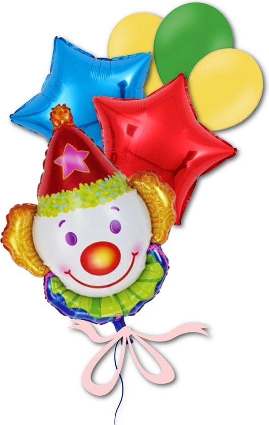 Clown Ballon - Circus Ballonnen Kinderfeestje Versiering  | Geschikt voor Helium