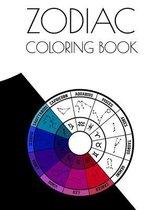 Zodiac Coloring Book: horoscope coloring book, astrology coloring book, Aries, Taurus coloring book, PISCES coloring book, AQUARIUS coloring
