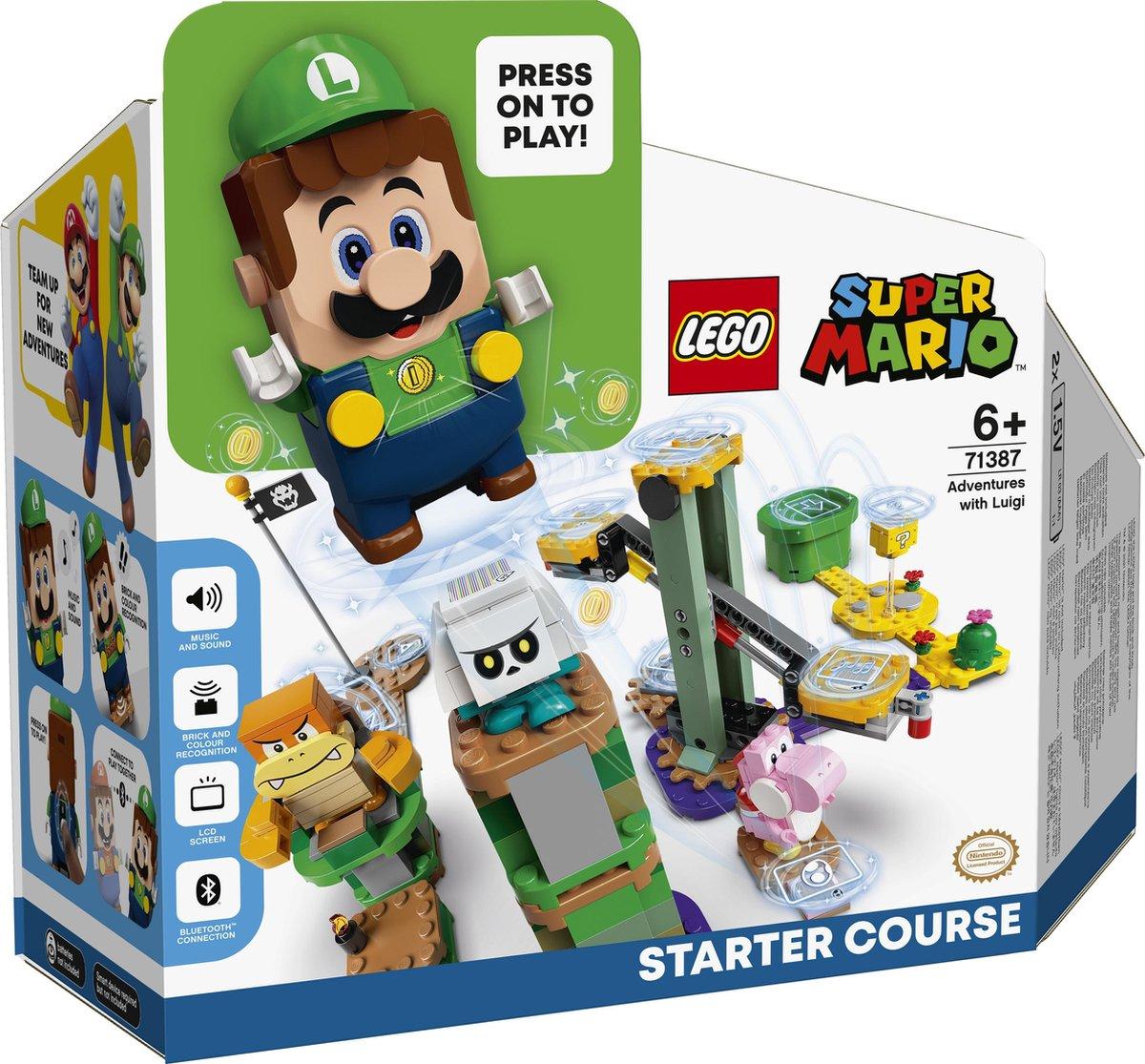 startset met Luigi