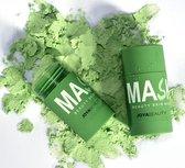 Joya Beauty® Groene Thee Detox Masker Stick   Green Tea Detox Mask   Groene Thee masker Stick   Green Mask   Gezichtsmasker   Verzorgend   Black Head verwijderen   Mee-eters   Hydraterend