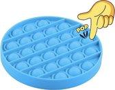Afbeelding van Pop Bubble®️ - Blauw - Pop it fidget toy speelgoed