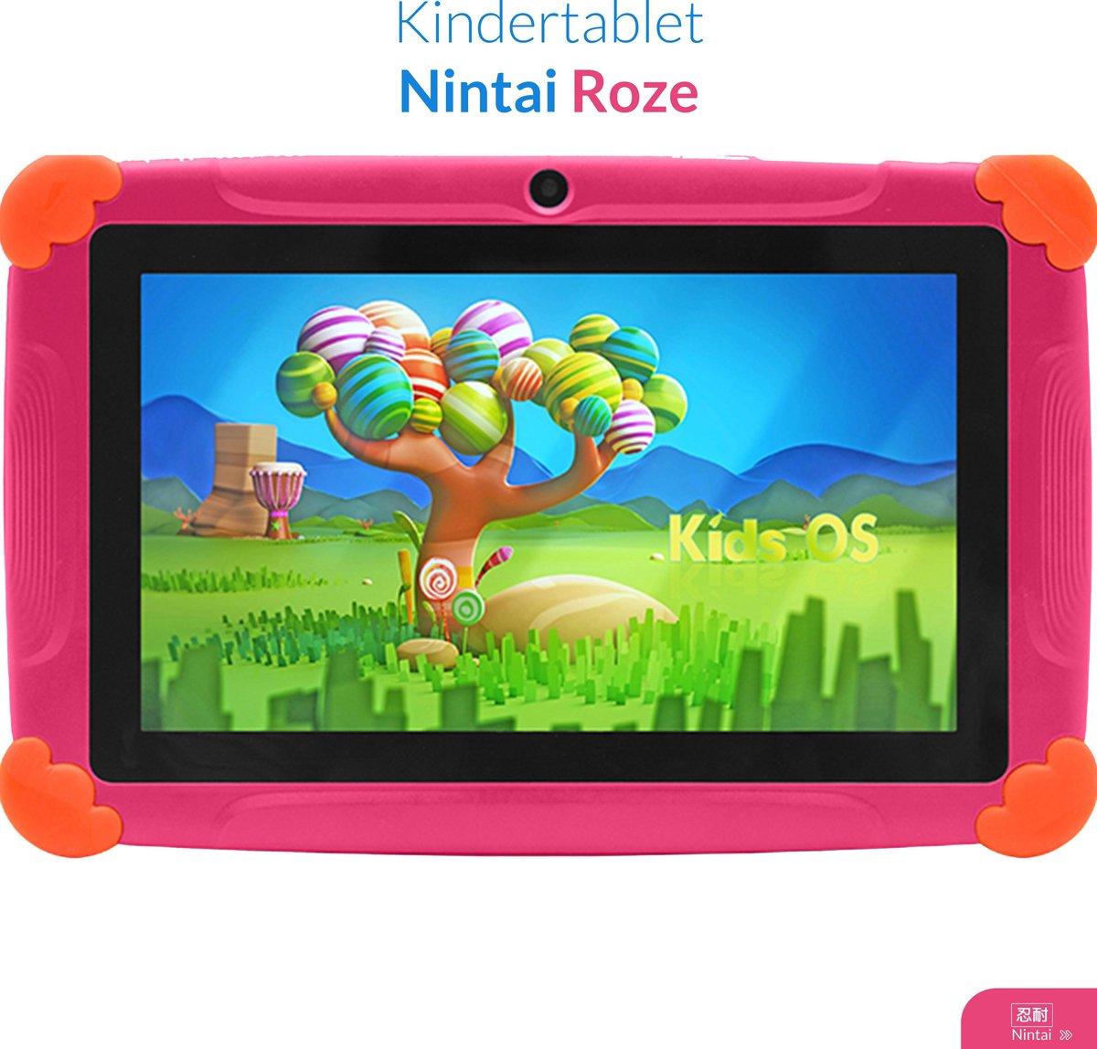 Kindertablet vanaf 3 jaar - 7inch - Kinder tablet - Roze