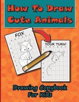 How To Draw Cute Animals, Drawing Copybook For Kids