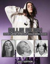 BILLIE EILISH Dots Line Spirals Coloring Book