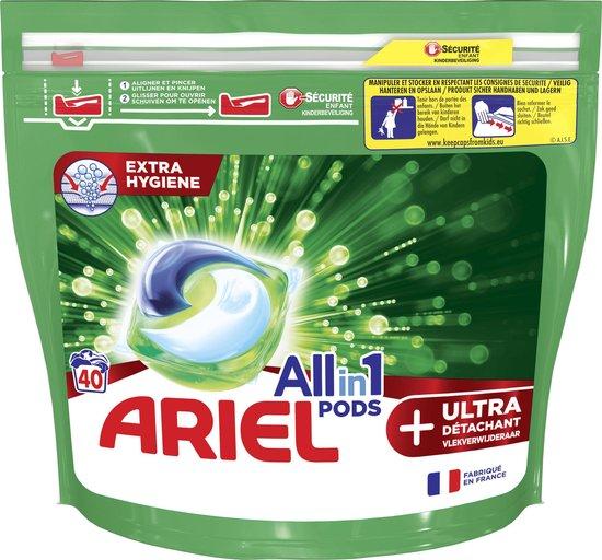 Ariel Allin1 Pods +Ultra Wasmiddel - 40 Wasbeurten - Wasmiddel Pods