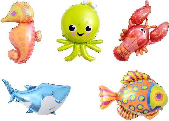 Ballonnen zeedieren 6 stuks