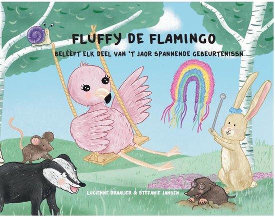 Fluffy de Flamingo - Deel 2 - Streektaal - Nedersaksisch - Voorleesboek