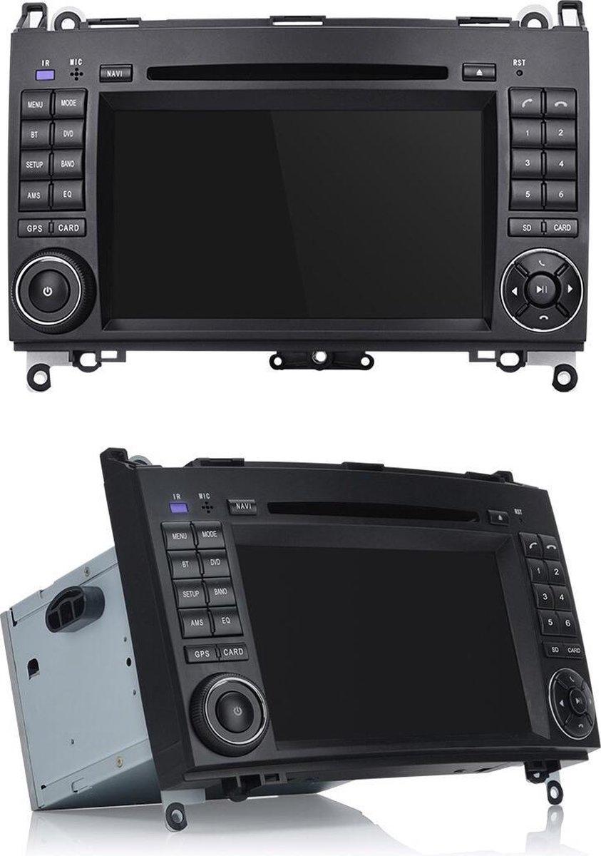 Mercedes Benz 2+32GB A klasse B klasse Vito Viano Sprinter Volkswagen Crafter Android 10 navigatie en multimediasysteem Bluetooth USB WiFi DVD Speler
