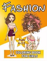 Fashion Coloring Book For Girls 6-12