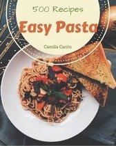 500 Easy Pasta Recipes