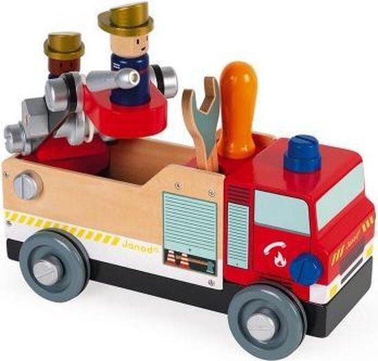 Janod Brico'kids - Brandweerauto