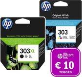 HP 303 - Inktcartridge 303XL zwart & 303 kleur + Instant Ink tegoed