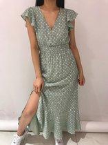 Jolie Dames Maxi jurk - Maat S