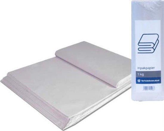 Afbeelding van Professioneel Inpakpapier 100 vellen - 40 x 60 cm - 1kg - Verhuispapier - Extra stevig - Verhuizen - Opslag