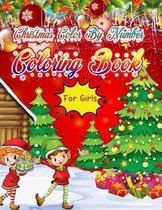 Christmas Color By Number Coloring Book for girls