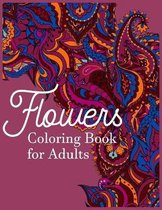 Coloring Book For Adults - Flowers