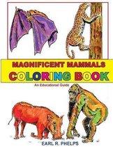 Magnificent Mammals Coloring Book