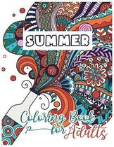 Summer Coloring Book For Adults