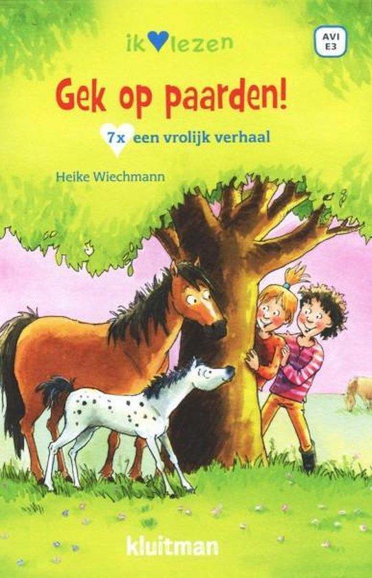 Boek cover Ik ♥ lezen  -   Gek op paarden van Heike Wiechmann (Hardcover)