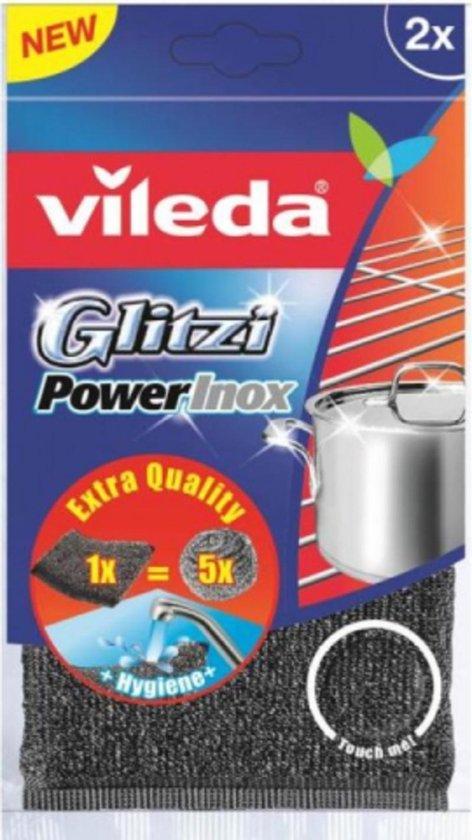 Vileda Glitzi PowerInox Metalen Spons