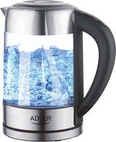 Waterkoker - Met temperatuurregeling - 1,7 liter - Glas - Waterkokers