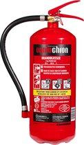 OgnioChron Brandblusser Poeder 6 kg - ABC - GP-6X ABC/MP+ - Rijkstypekeur - Hoge blusrating - Gemaakt in Europa