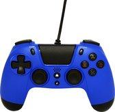 Gioteck VX4 Premium Bedrade Controller - Blauw - PS4 & PC