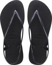 Havaianas Sunny II Dames Slippers - Black - Maat 37/38
