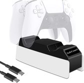 Safecourt - PlayStation 5 Oplaadstation - Snel opladen - USB-c - Twee