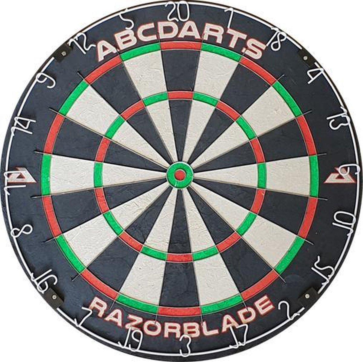 ABC Darts - Razorblade Dartbord - Sisal Wedstrijd Dartbord