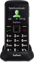 Profoon PM-703 3g Senioren mobiele telefoon - Overal ter wereld te gebruiken en extra luide beltoon
