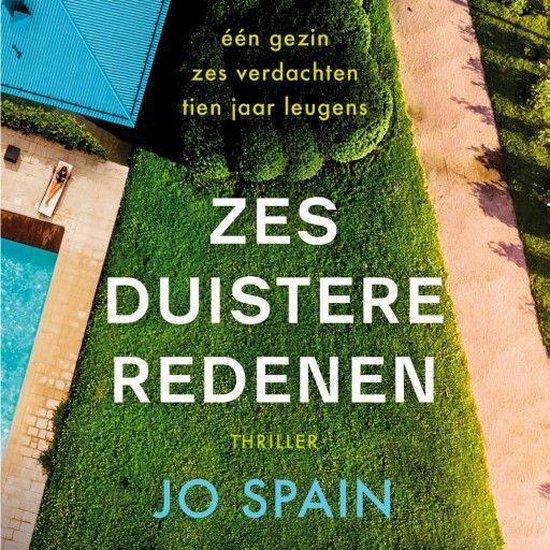 Boek cover Zes duistere redenen van Jo Spain (Onbekend)