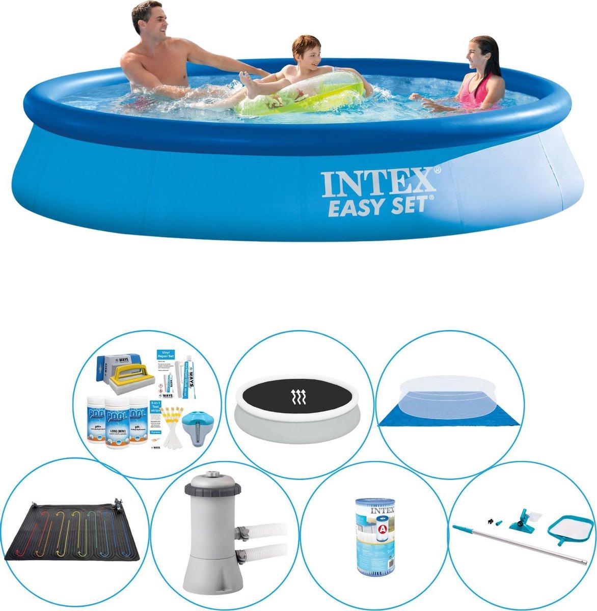 Intex Easy Set Rond 366x76 cm - Zwembad Comfort Pakket