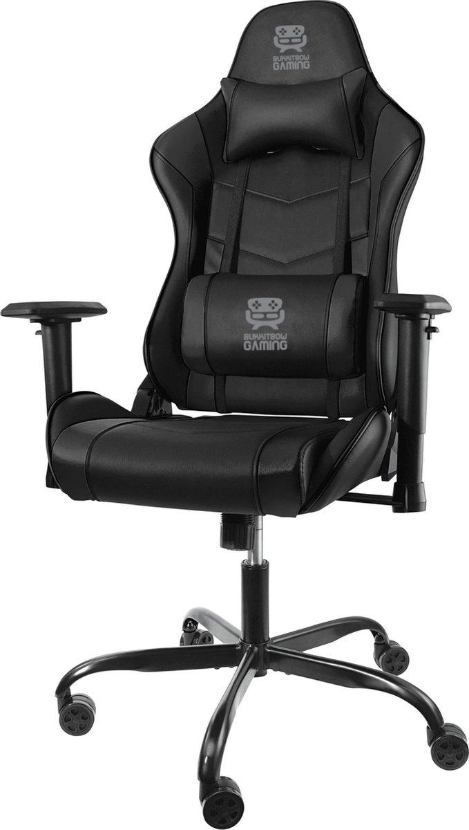 BukkitBow Gaming - BBG-096 Gaming Bureaustoel - Kantelbaar en verstelbaar in hoogte
