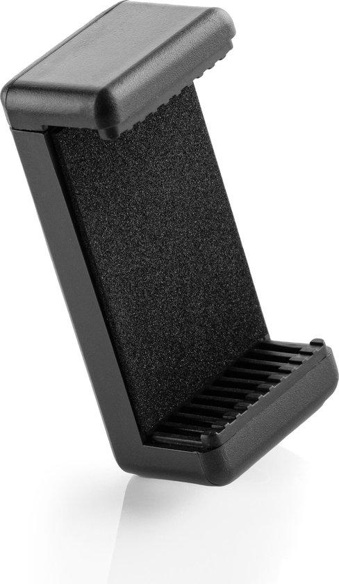 MOJOGEAR Flexibel mini-statief KIT: met telefoonhouder, bluetooth remote, GoPro-adapter & opbergzakje