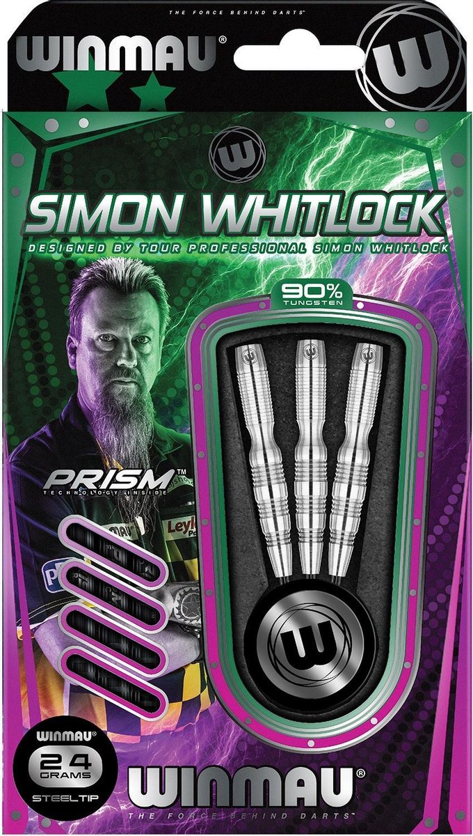 Winmau Simon Whitlock Silver 90% - 24 Gram