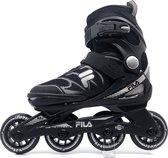 Fila J-One kinder inline skates - 72 mm - zwart - maat 28 t/m 32