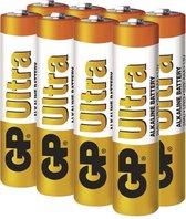 GP Ultra Alkaline AAA batterijen - 8 stuks in blisterverpakking ( LR03 - Potlood - Micro batterij )