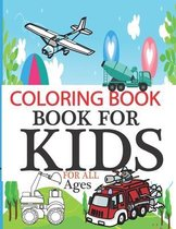 Coloring book for kids for all ages: garbage truck coloring book for toddlers, garbage truck coloring book for boys 4-8, coloring book With Handwritin