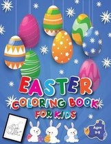 Easter Coloring Book for Kids Ages 2-5: A Fun Easter Activity Book Coloring and Guessing Game for Kids Ages 2-5, 4-8