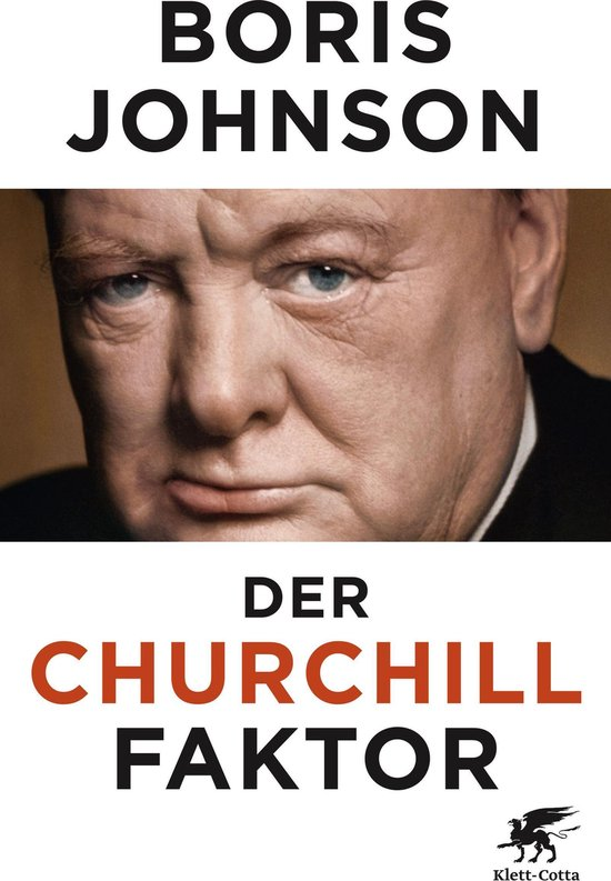 Boek cover Der Churchill-Faktor van Boris Johnson (Onbekend)